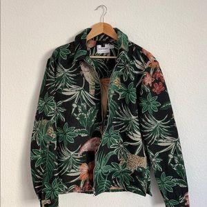 Topman Embroidered Jacket